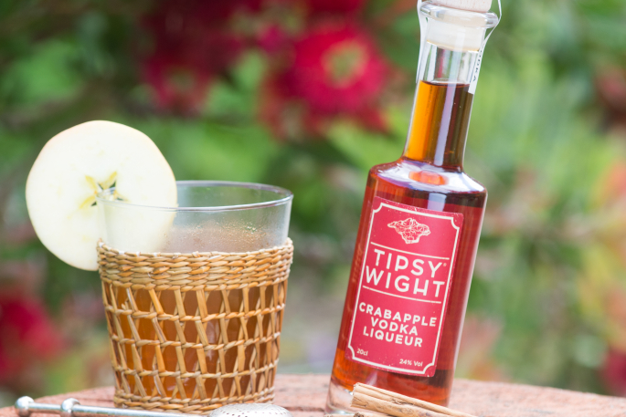 Crabapple hot Toddy