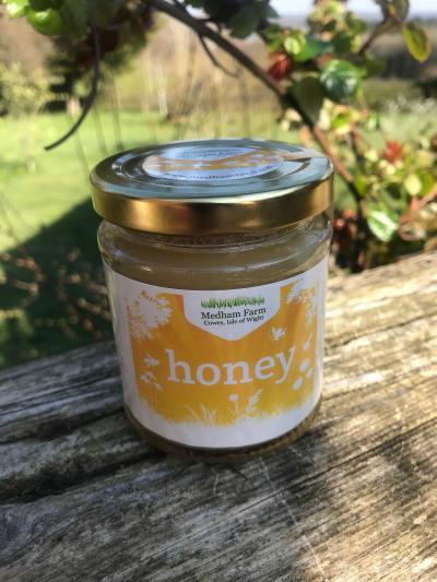 set honey jar