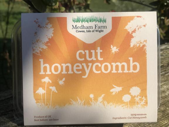 Cut Honey Comb Image